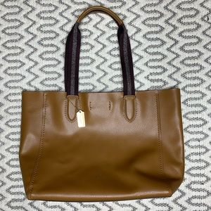 NWOT Coach Brown Shoulder Tote